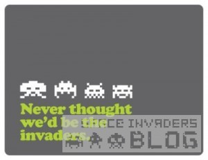 0-Never thought we'd be the invaders